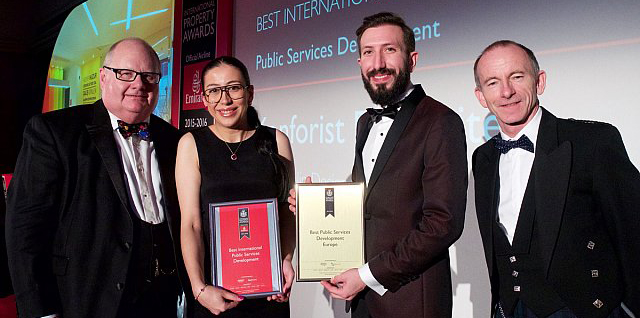 Best International Property Award to our Alumna