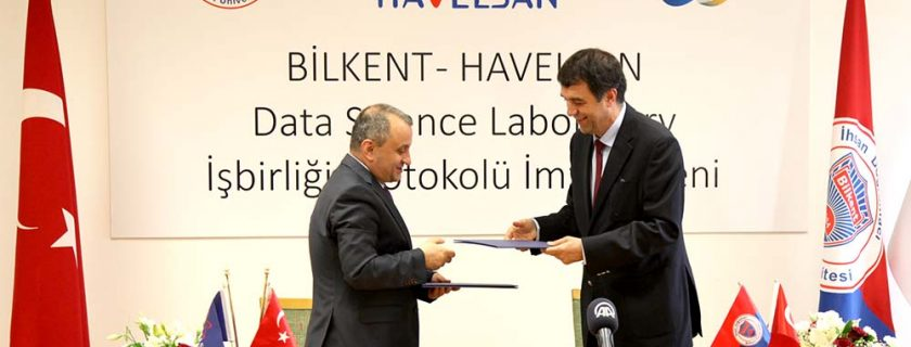 Bilkent University and HAVELSAN signed a cooperation protocol for establishing a Data Science Laboratory