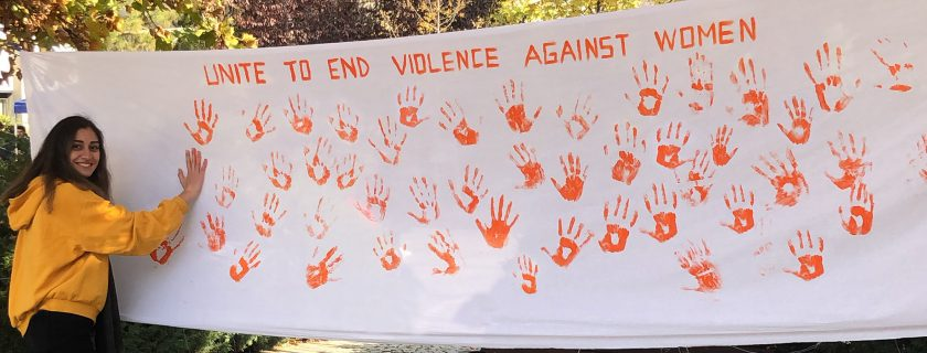 Campus Unites to Help End Violence Against Women