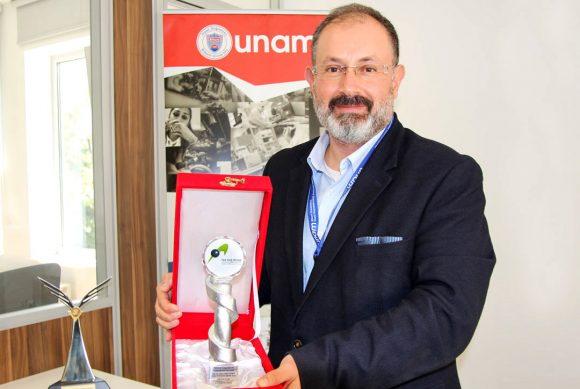 An Award to Hilmi Volkan Demir