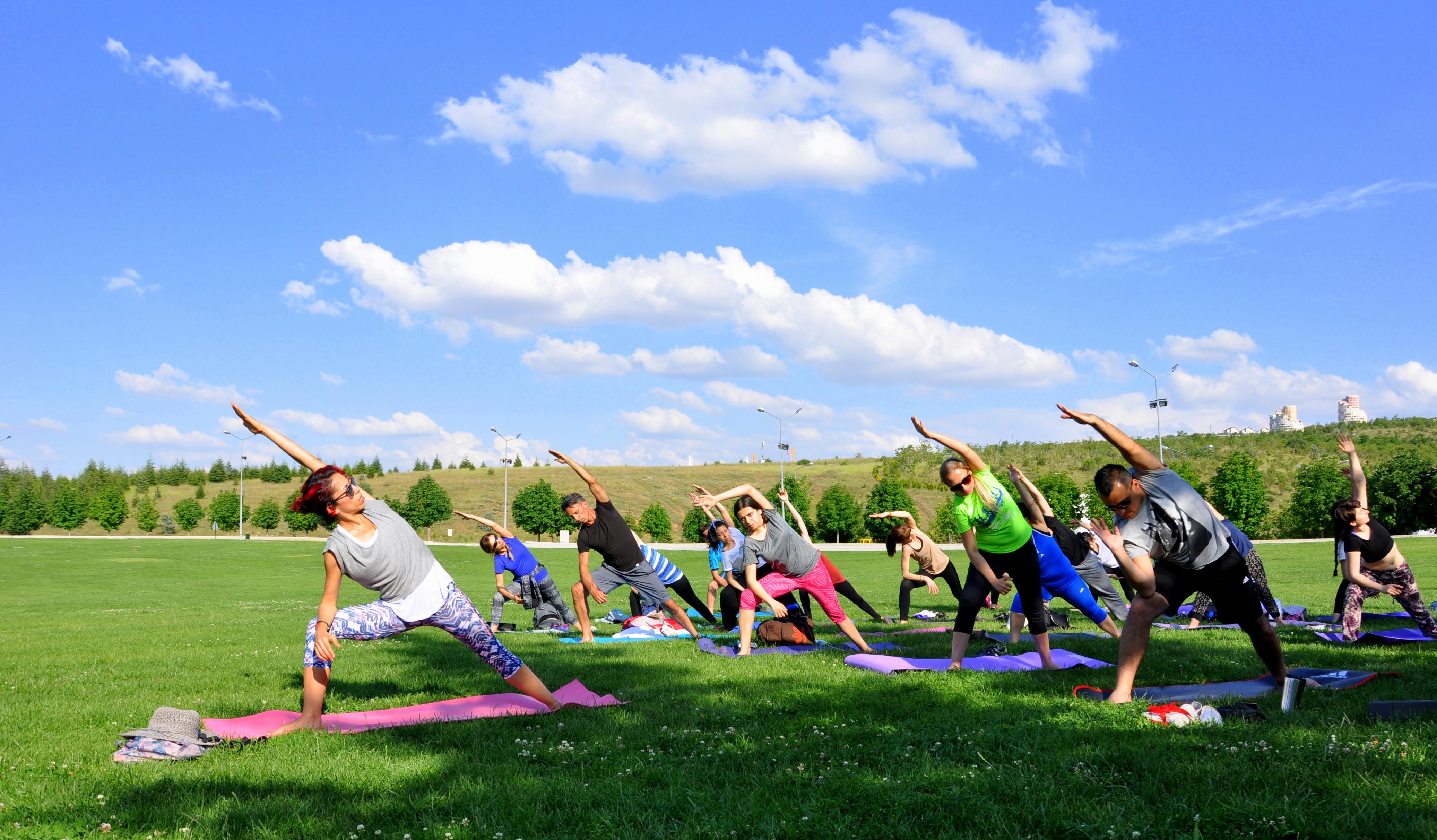 Uluslararası Yoga Günü Etkinliği Bilkent'te Yapıldı