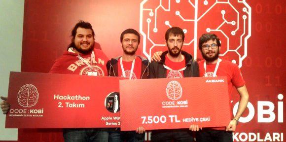 CTIS Öğrencileri Hachathon'da İkinci oldu.